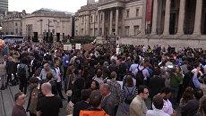Митинг против Brexit в Лондоне в преддверии референдума в Великобритании