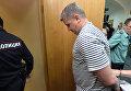 """Бывший председатель правления компании """"РусГидро"""" Евгений Дод, обвиняемый в мошенничестве не менее чем на 73,2 миллиона рублей в здании Басманного суда города Москвы"""