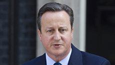 Премьер-министр Великобритании Дэвид Кэмерон заявил об отставке. Архив