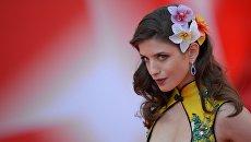 Актриса Анна Чиповская на церемонии открытия 38-го Московского международного кинофестиваля в Москве