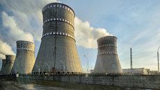 Ровенская атомная электростанция в Кузнецовске