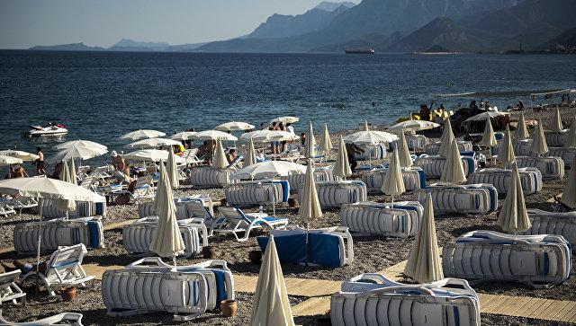 Ситуация на курортах Турции в связи со спадом турпотока из России. Архивное фото