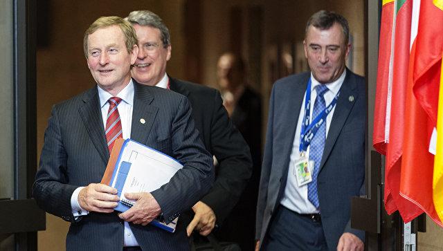 Премьер Ирландии вБелом доме призвал ирландцев-нелегалов соблюдать закон стран