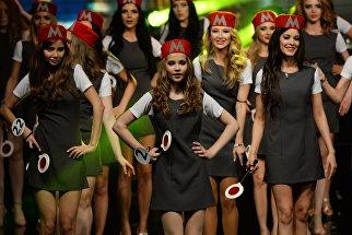 Участницы финала XXI фестиваля талантов и красоты Мисс Москва 2016