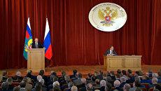 Путин на совещании с послами: Украина, отношения с Турцией и Brexit