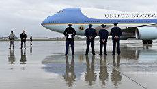 Самолет американского президента на базе ВМС США Эндрюс. Архивное фото