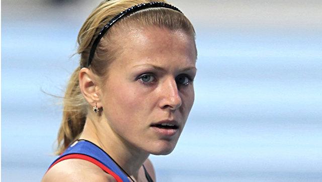 Российская легкоатлетка Юлия Степанова. Архивное Фото.