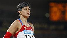 Российская легкоатлетка Татьяна Лебедева. Архивное фото