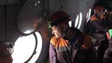 Поиск пропавшего в Иркутской области самолета Ил-76 МЧС России. Архивное фото