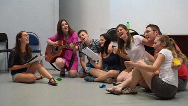 Участники австрийско-российской летней школы Тандем
