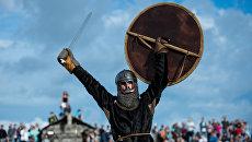 Фестиваль исторической реконструкции Абалакское поле в Тюменской области