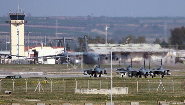 Авиабаза Инджирлик в Турции. Архивное фото