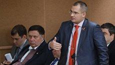 Председатель партии Коммунисты России Максим Сурайкин