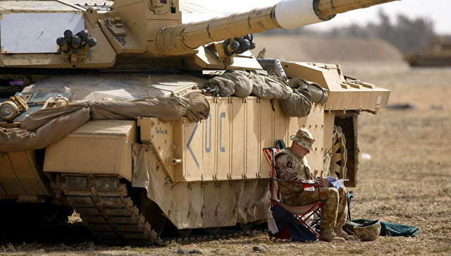 Танк Челленджер 2 воорруженных сил Великобритании. Архивное фото