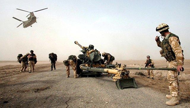 Британские войска в Ираке. Архивное фото