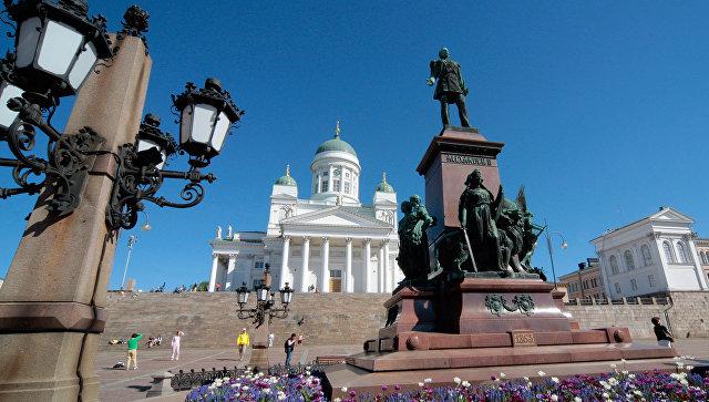 Хельсинки Финляндия. Архивное фото