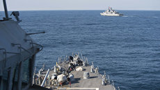 Военные корабли в Черном море. Архивное фото