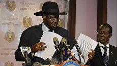 Президент Южного Судана Сальва Киир. Архивное фото