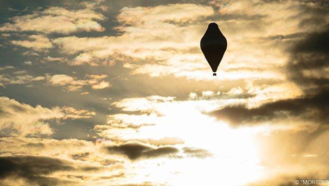 Воздушный шар российского путешественника Федора Конюхова. Архивное фото