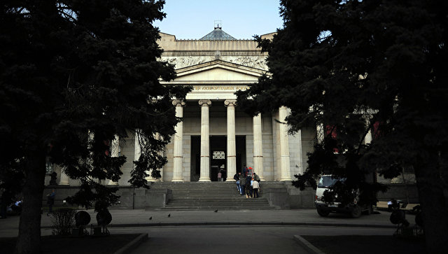 Здание ГМИИ им. А.С. Пушкина. Архивное фото