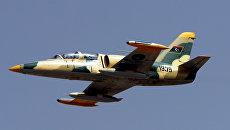 Истребитель ВВС Ливии. Архивное фото