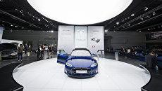 Беспилотный автомобиль Tesla Model S