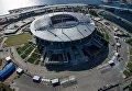 """Строительство стадиона """"Зенит-Арена"""" в Санкт-Петербурге"""