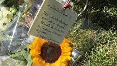 Цветы на набережной в Ницце