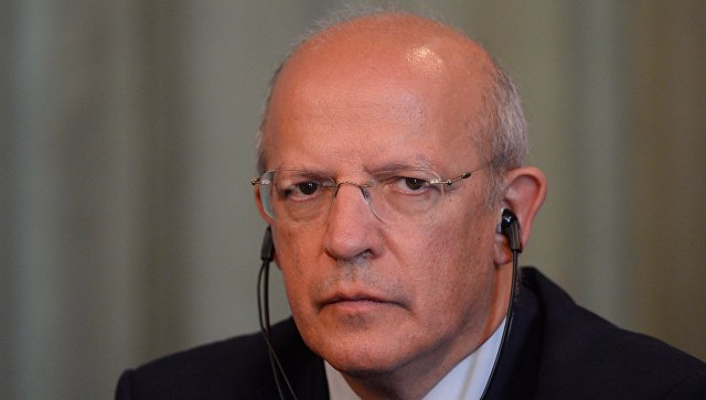 Министр иностранных дел Португалии Аугушту Сантуш Силва. Архивное фото