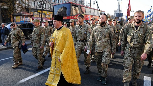 Милиция: Марши националистов вКиеве прошли относительно спокойно
