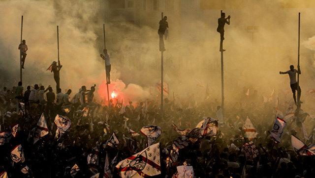 Работа – победитель фотожурналиста из Египта Гехад Хамди (Gehad Hamdy) Рыцари