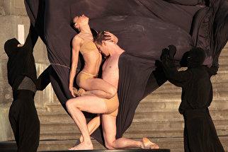Сцена из балета Роден на гала-концерте Борис Эйфман и звезды балета