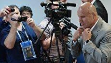 Президент Федерации спортивной борьбы России Михаил Мамиашвили. Архивное фото