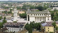 Вид на Вильнюс. Архивное фото