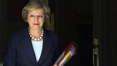 Премьер-министр Великобритании Терееза Мэй. Архивное фото