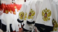 Экипировка сборных России по легкой атлетике и вольной борьбе к Олимпиаде-2016