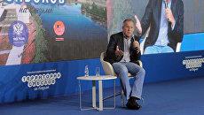 Глава МИД РФ С.Лавров посетил форум Территория смыслов. 22 июля 2016