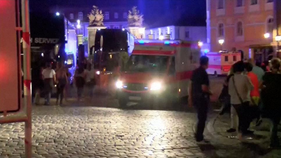 Взрыв вАнсбахе квалифицирован как теракт