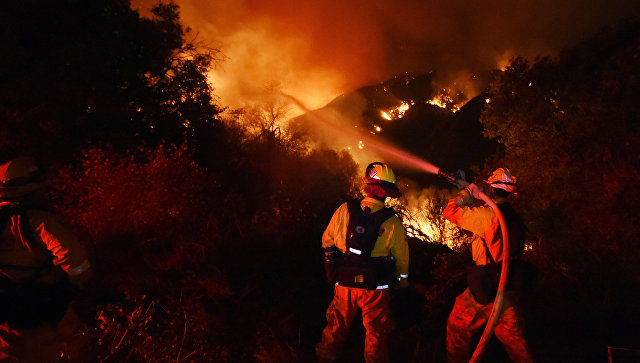 Лесные пожары в Калифорнии, США. Архивное фото