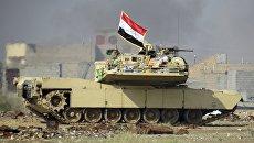 Иракские войска ведут бои с боевиками ИГ. Архивное фото