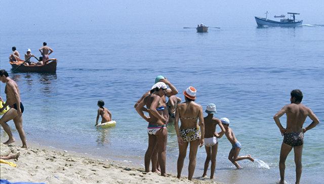 На болгарском побережье Черного моря. Архивное фото