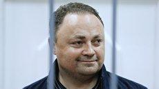 Мэр Владивостока Игорь Пушкарев в суде. Архивное фото