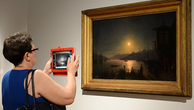 Выставка Айвазовского попосещаемости бьёт рекорд выставки Серова