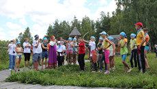 Детский лагерь в нацпарке Мещёра