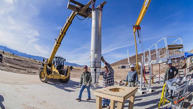 Тестовые испытания макета бомбы B61-12 в штате Нью-Мексико, США