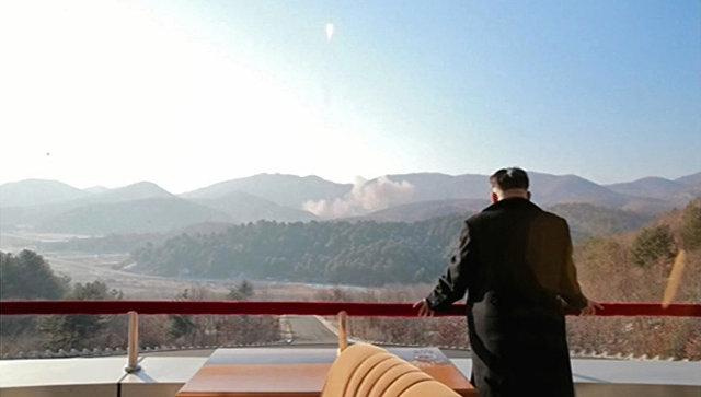 Лидер КНДР Ким Чен Ын. Архивное фото