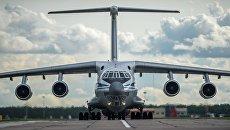 Самолет военно-транспортной авиации. Архивное фото