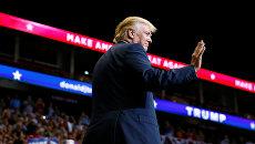 Кандидат в президенты США Дональд Трамп в Джексонвилле