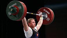 Чемпионка мира по тяжелой атлетике Татьяна Каширина. Архивное фото