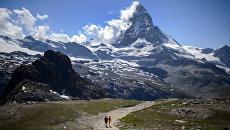 В Альпах. Архивное фото
